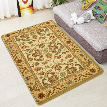 Persian Totem Printed Home Decor Antiskid Rug - EARTHY W47 INCH * L63 INCH