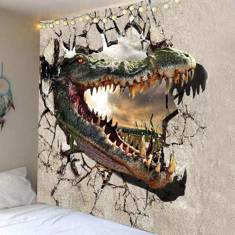 Mutant Dinosaur Pattern Wall Hanging Tapestry