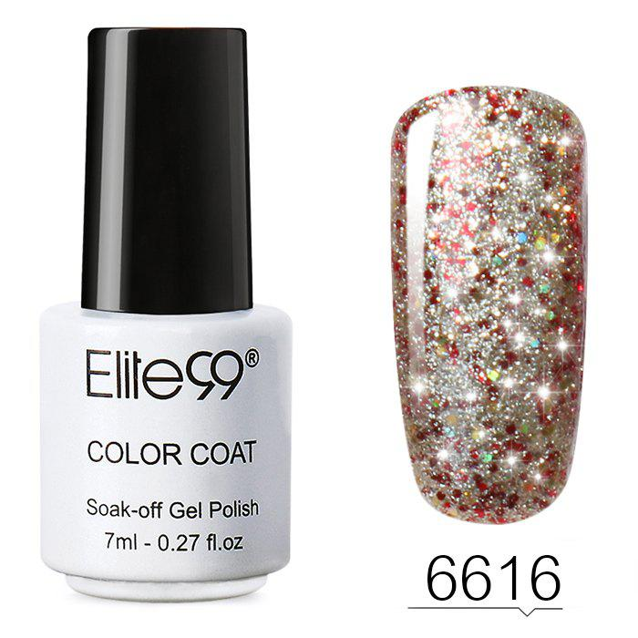 7 ML Glitter Colors Soak Off Nail Art DIY Shiny Nail Polish -