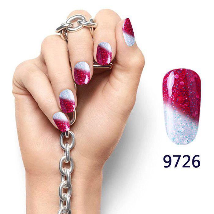 Snowy Temperature Change Color Soak Off Nail Art Nail Polish -