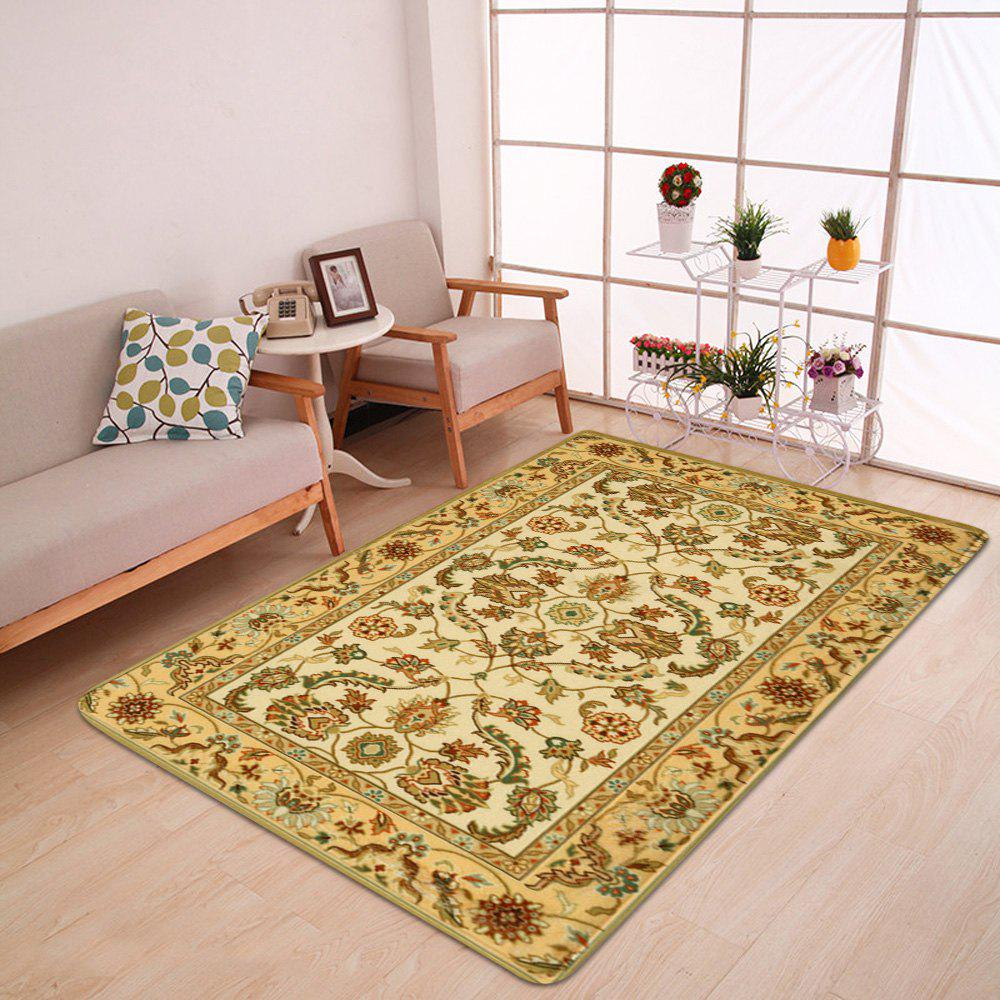 Persian Totem Printed Home Decor Antiskid Rug - EARTHY W24 INCH * L71 INCH