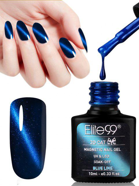 10ML 3D Magnetic Gel Cat Eye Soak Off UV Gel Nail Salon Nail Polish - 17
