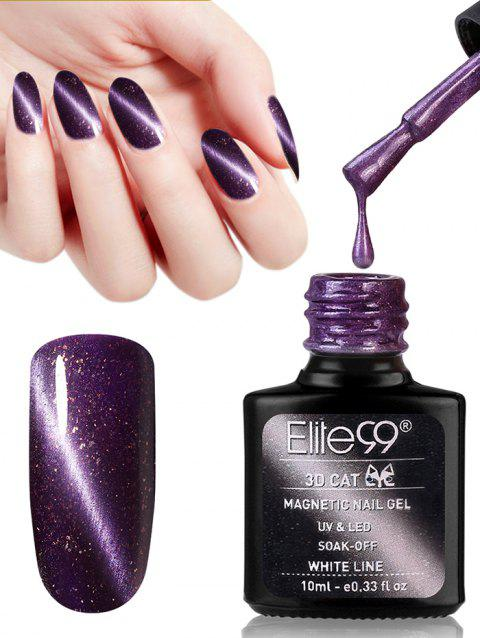 10ML Purple Series Cat Eye Soak Off Nail Art Nail Polish - 03
