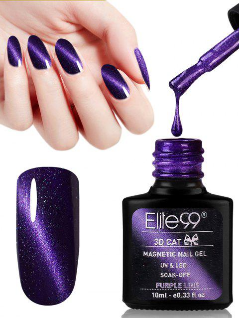 10ML Purple Series Cat Eye Soak Off Nail Art Nail Polish - 09