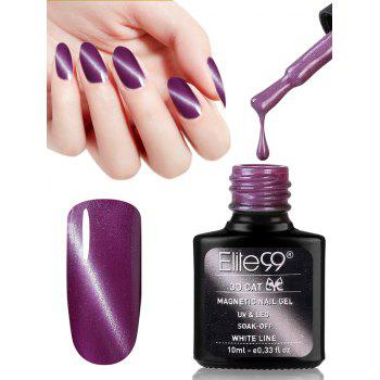 10ML Purple Series Cat Eye Soak Off Nail Art Nail Polish - #06