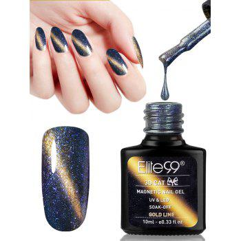 10ML 3D Magnetic Gel Cat Eye Soak Off UV Gel Nail Salon Nail Polish - #04