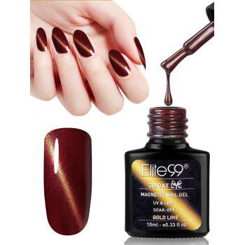 10ML Red Series Cat Eye Soak Off UV Gel Nail Art Nail Polish - #12