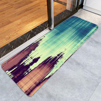 Woodgrain Pattern Living room Area Rug - COLORMIX W24 INCH * L71 INCH