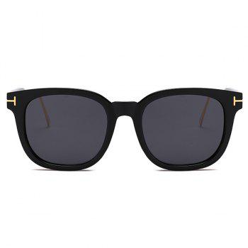 Anti UV Full Frame Polarized sunglasses - DOUBLE BLACK