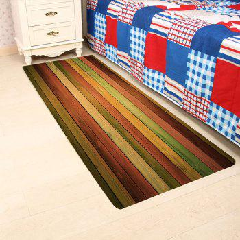 Vintage Colorful Laths Printed Skidproof Area Rug - COLORFUL COLORFUL