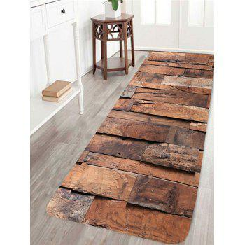 Wood Board Pattern Indoor Outdoor Area Rug - WOOD COLOR WOOD COLOR