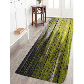 Dry Paint Laths Printed Skidproof Area Rug - COLORFUL COLORFUL