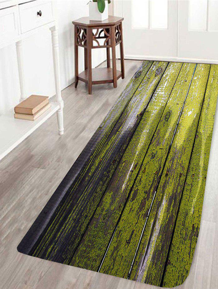 Dry Paint Laths Printed Skidproof Area Rug - COLORFUL W24 INCH * L71 INCH