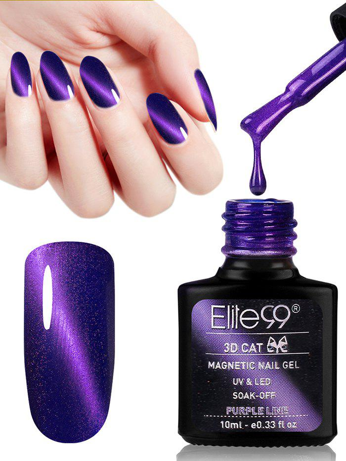 10ML Purple Series Cat Eye Soak Off Nail Art Nail Polish -