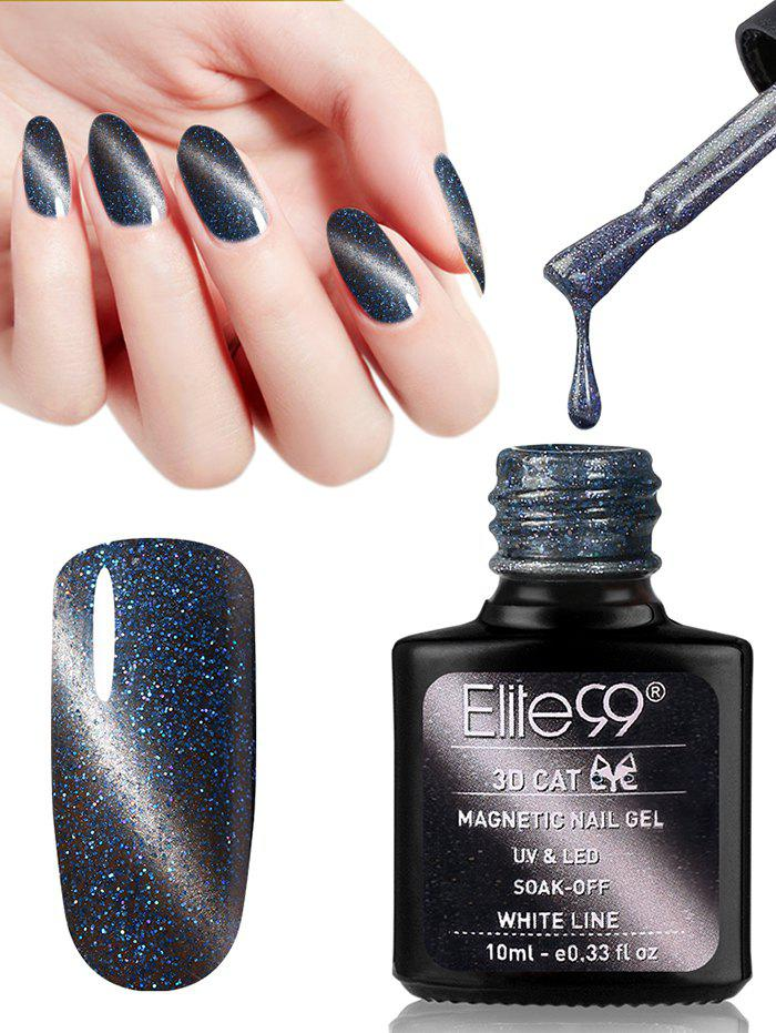 10ML 3D Magnetic Gel Cat Eye Soak Off UV Gel Nail Salon Nail Polish -