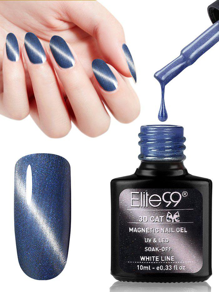 10ML 3D Magnetic Gel Cat Eye Soak Off UV Gel Nail Salon Nail Polish cnhids in 24w professional 9c uv led lamp 7color top coat base coat 10ml nail gel soak off gel nail polish other nail tools