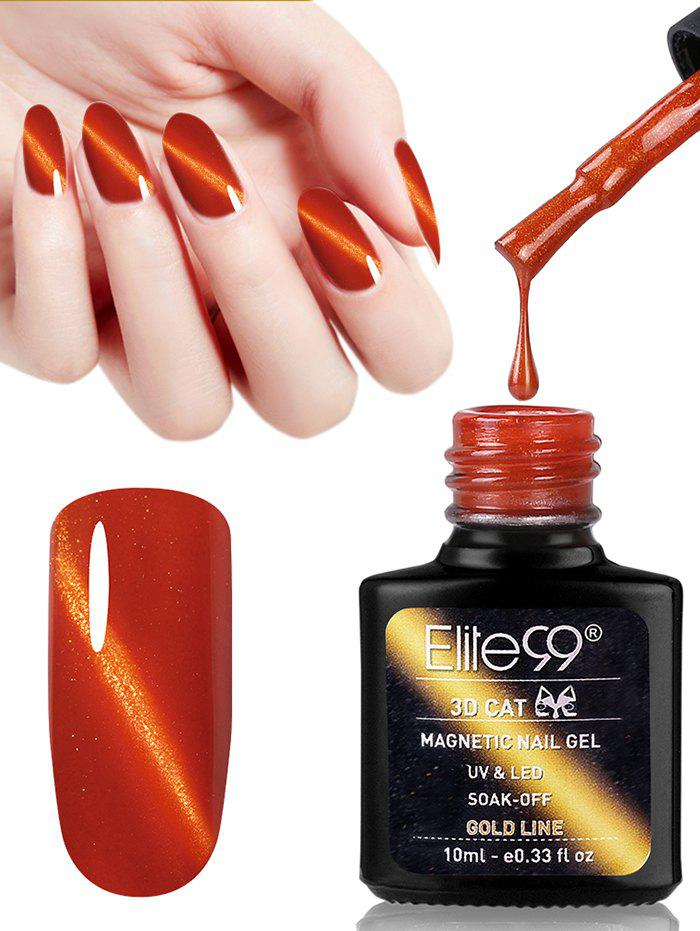 10ML Red Series Cat Eye Soak Off UV Gel Nail Art Nail Polish -