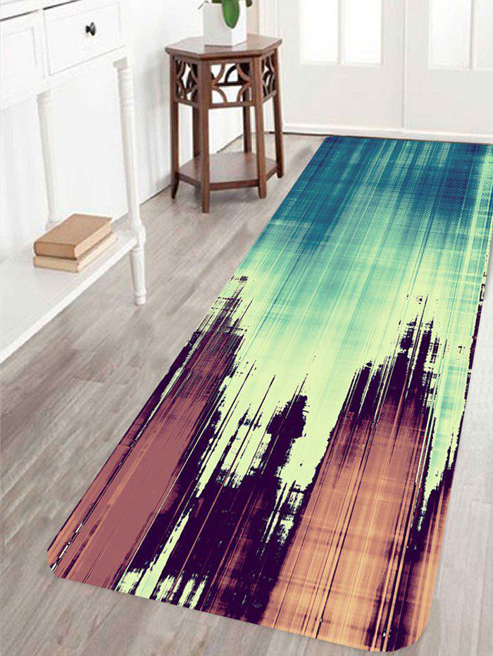 Woodgrain Pattern Living room Area Rug - COLORMIX W16 INCH * L47 INCH