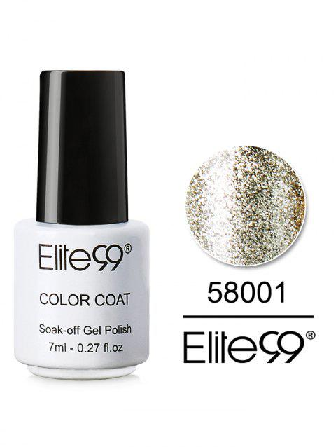 7ML Diamond Glitter Soak Off Nail Salon Gel Nail Polish - 01