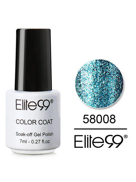 7ML Diamond Glitter Soak Off Nail Salon Gel Nail Polish - 08