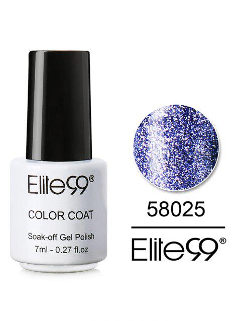 7ML Diamond Glitter Soak Off Nail Salon Gel Nail Polish - 25