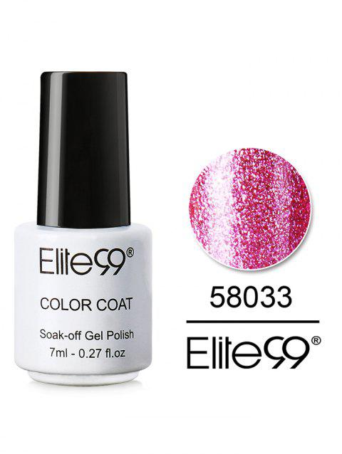 7ML Diamond Glitter Soak Off Nail Salon Gel Nail Polish - 33
