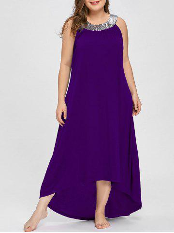 ad34400f9a7 2019 Purple Asymmetrical Dress Best Online For Sale