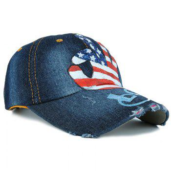 Unique OK Hand Pattern Adjustable Baseball Cap -