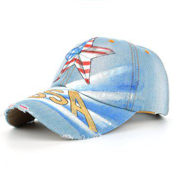 Unique Hand Drawing Star Pattern Baseball Cap - #02