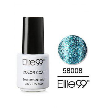 7ML Diamond Glitter Soak Off Nail Salon Gel Nail Polish - #08