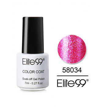 7ML Diamond Glitter Soak Off Nail Salon Gel Nail Polish - #34