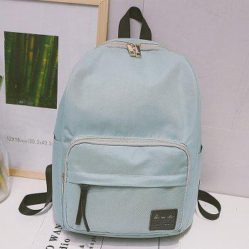 Minimalist Backpack with Handle - LIGHT GREEN