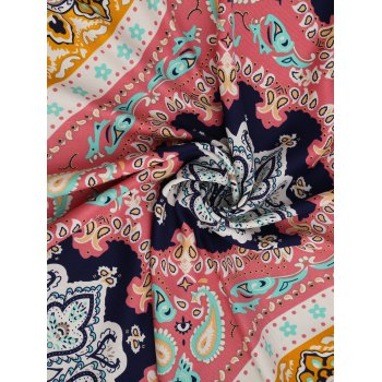 Ethnic Tassel Beach Throw - RED ONE SIZE