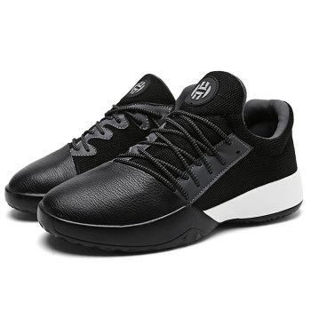 Casual Color Block Running Sneakers - BLACK 41