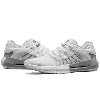 Casual Breathble Mesh Sneakers - WHITE 39