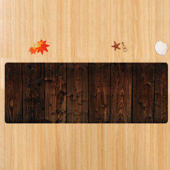 Tapis Absorbant Motif Planches - Bis W24 INCH * L71 INCH
