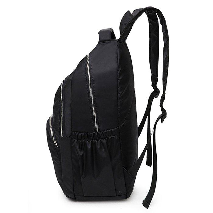 Minimalist Laptop Backpack with Handle - BLACK