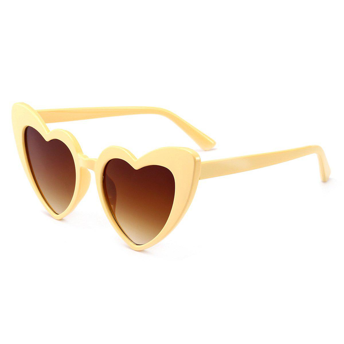 Heart Shape Full Frame Sunglasses - CLEMENTINE