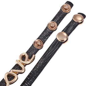 Love Wrap Bracelet Montre - Royal