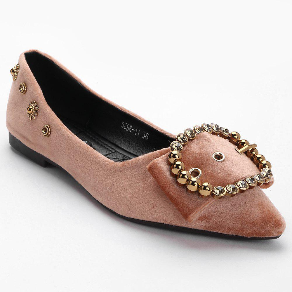 Rviets Metallic Crystal Flats - Rose 39