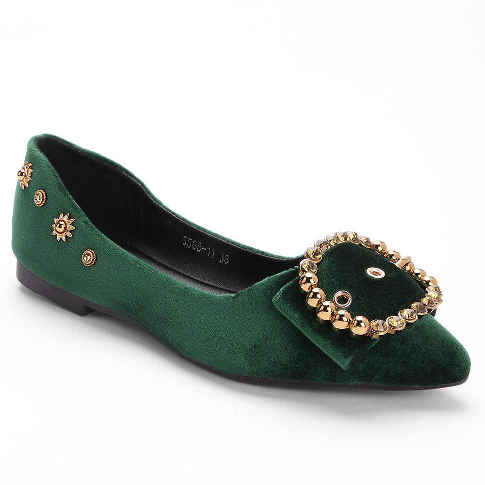 Rviets Metallic Crystal Flats - GREEN 36