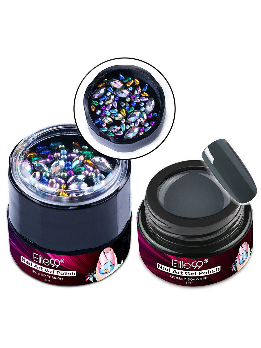 5ML Soak Off Nail Art Painting Gel Nail Polish with Diamond -