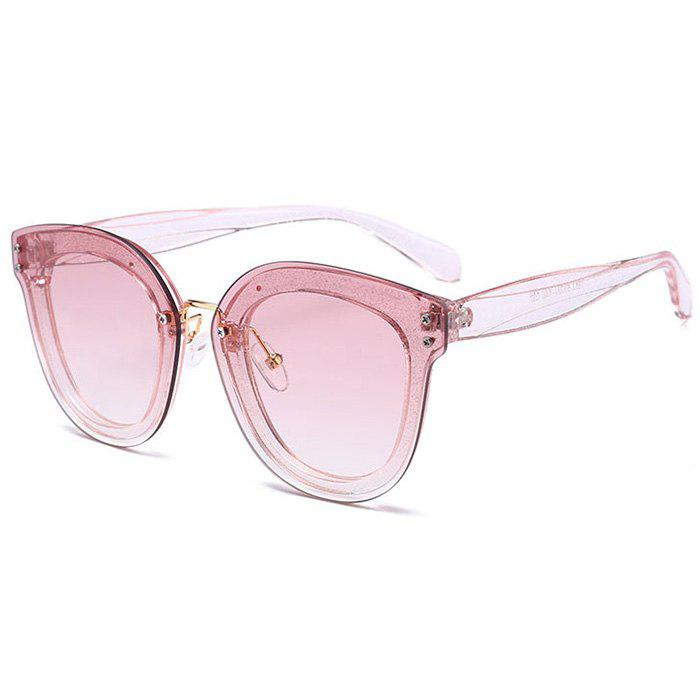 Lunettes de soleil anti-fatigue Full Frame Nose Pad - Rose