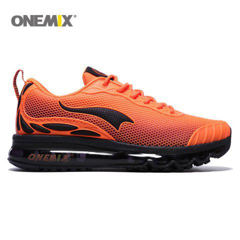 ONEMIX Air Cushion Road Athletic Shoes - ORANGE 41