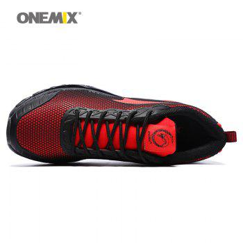 ONEMIX Air Cushion Road Athletic Shoes - RED 40