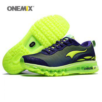 ONEMIX Air Cushion Road Athletic Shoes - NEON GREEN 45