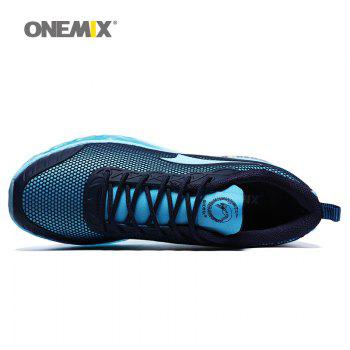 ONEMIX Air Cushion Road Athletic Shoes - SKY BLUE FLOWER 46