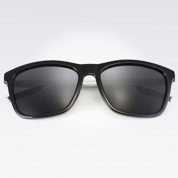 UV Protection Full Frame Polarized Driver Sunglasses - BLACK