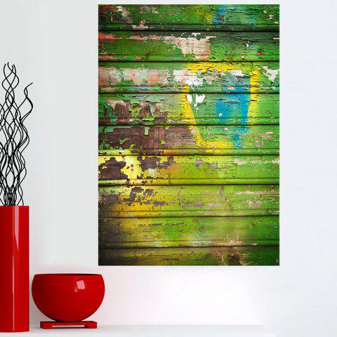 Spray Paint Board Wall Art Canvas Painting - COLORFUL 1PC:16*24 INCH( NO FRAME )