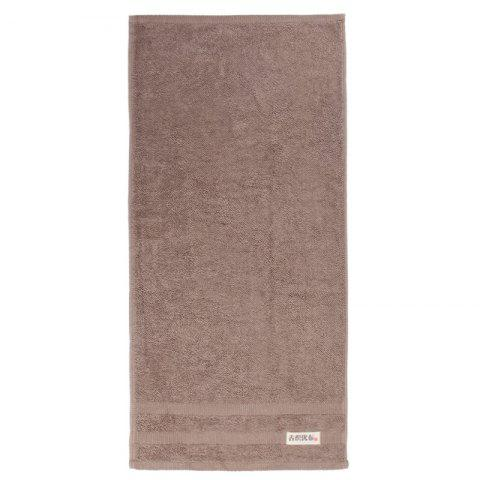 Cotton Strong Water Absorption Towel - BROWN 34*75CM